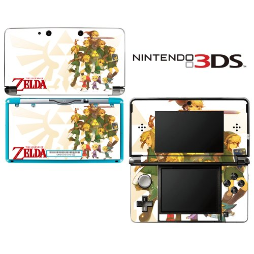 The Legend Of Zelda Decorative Video Game Decal Cover Skin Protector For Nintendo 3Ds (Not 3Ds Xl)