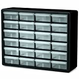 Akro-Mils 10124 24 Drawer Plastic Parts Storage Hardware and...