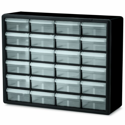 Akro-Mils 10124 24 Drawer Plastic Parts Storage