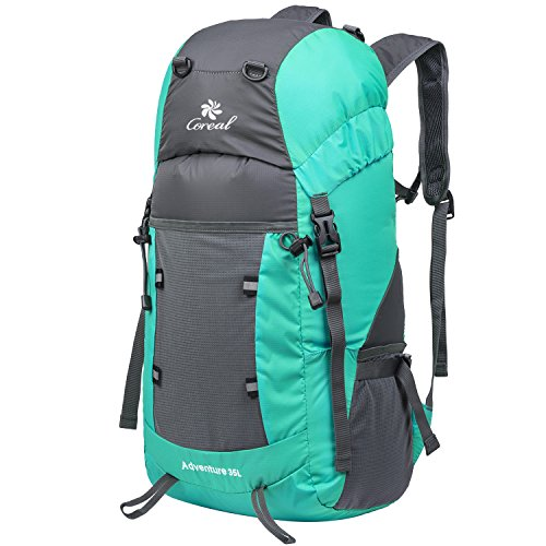 Coreal-Large-35L-Lightweight-Packable-Travel-Hiking-Backpack