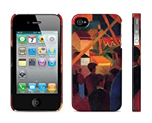 Iphone 4 / 4s Case Tightrope Walker - August Macke, 1914 Cell Phone Cover