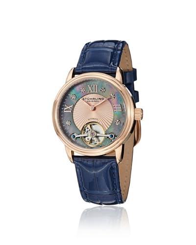 Stuhrling Women's Cassiopeia Vogue Blue Watch