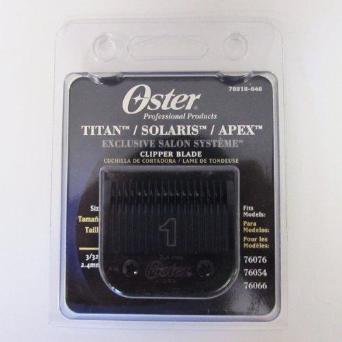 Oster TITAN/SOLARIS/APEX Clipper Blade 1 (#76918-646) (Oster Solaris compare prices)