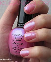 Kleancolor Nail Lacquer Sweet Pink 66