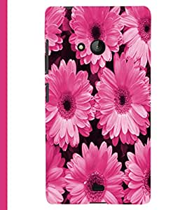 PRINTSHOPPII FLOWER Back Case Cover for Lumia Lumia 540::Microsoft Lumia 540