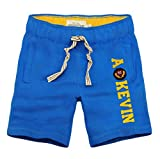 AF The craze Mens Sports Casual Jogger Loose Casual Shorts Harem Pants Trousers (Blue Size XXL)