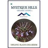 MYSTIQUE HILLS - ORGANIC BLACK CHIA (1 KG) PREMIUM QUALITY