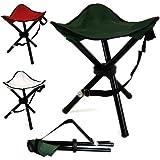 Portable Tripod Camping Hiking Fishing Festival Folding Chair Stool Seat