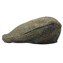 Flat Caps Harris Tweed Hanna Hats of Donegal Ireland