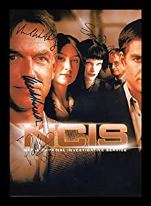 NCIS Autographed Signed And Framed Photo