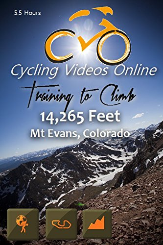 Training to Climb! 14,285 Feet Mt Evans Colorado. (DVD) Virtual Indoor Cycling Training / Spinning Fitness and Workout Videos (Cycling Videos Online compare prices)