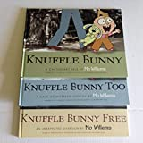 img - for Mo Willems Knuffle Bunny Book Set of 3 - [Knuffle Bunny: A Cautionary Tale, Knuffle Bunny Too: A Case of Mistaken Identity, Knuffle Bunny Free: An Unexpected Guest] book / textbook / text book