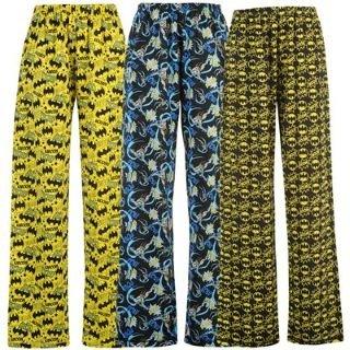 Character 3 Pack Pyjamas Mens Batman Medium