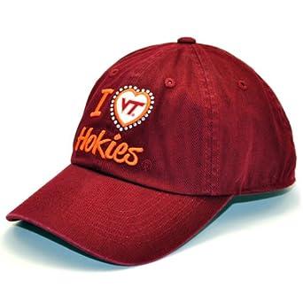 Buy NCAA Virginia Tech Hokies Ladies Lovin' It Adjustable Cap (Maroon, One Size) by Top of the World