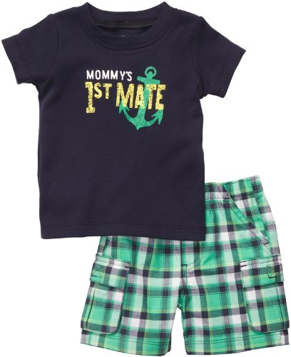 Carter'S Baby Boys' 2-Piece Short Set - Multicolor - Nb front-236046