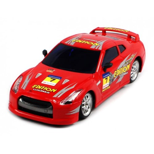 Electric Full Function 1:24 Nissan GTR 4WD RTR RC Drift Car Remote Control Full Function Great Quality