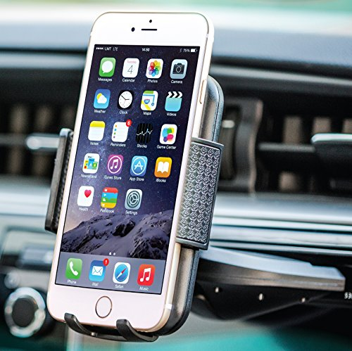 Bestrix Universal CD Slot Smartphone Car Mount Holder for iPhone 6, 6S Plus 5S, 5C, 5, 4S, 4, Samsung Galaxy S2 S3 S4 S5 S6 S7 Edge/Plus Note 2 3 4 5 7 LG G2 G3 G4 G5 all smartphones up to 6