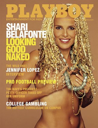 2000 Shari Belafonte Playboy Magazine