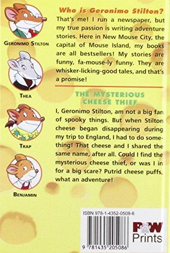 Mysterious Cheese Thief (Geronimo Stilton)