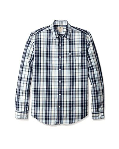 Timberland Men's TFO Long Sleeve Gale Poplin Shirt
