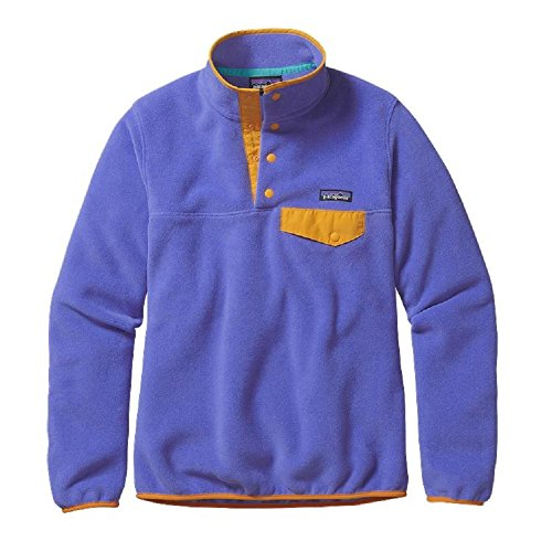 Patagonia Synchilla Lightweight Snap-T Fleece Pullover - Women's Violet Blue, XS