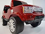 New 2015 Licensed Land Rover Discovery 12v Kids Ride on Car Power Wheels with Remote Control - Red
