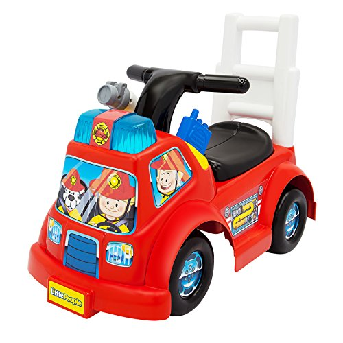 Fisher-Price-Little-People-Fire-Truck-Ride-On