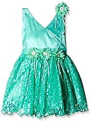 Atayant Girl Evening Dress (ATAYK_008_3:4YR_Sea Green_M)