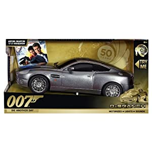 Toystate James Bond Light and Sound Q-Branch: Aston Martin Vanquish V12 (Die Another Day)