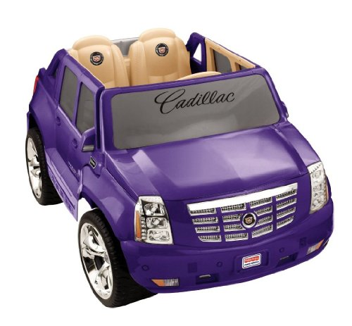 Power Wheel Purple Cadillac Escalade