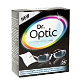 Pack of 24 Dr. Optic Optical Lens Wipes from Caraselle