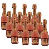 Martini Rosé Miniature Sparkling Wine 20cl Bottle - 12 Pack