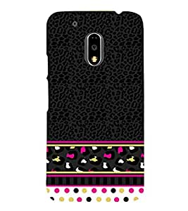 Women's Love Pattern 3D Hard Polycarbonate Designer Back Case Cover for Motorola Moto G4 Plus :: Moto G4+ :: Moto G4