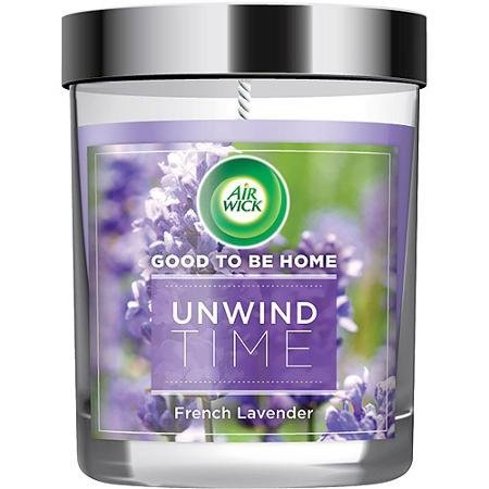 Air Wick Good To Be Home Scented Candle, Unwind Time, 5oz (Good To Be Home compare prices)