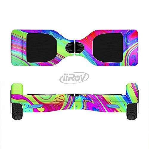 The-Neon-Color-Fusion-V11-Full-Body-Wrap-Skin-Kit-for-the-iiRov-HoverBoards-and-other-Scooter-HOVERBOARD-NOT-INCLUDED