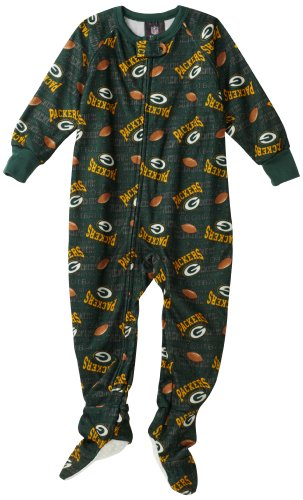 NFL Infant/Toddler Boys' Green Bay Packers Blanket Sleeper (Team Color, 4T) at Amazon.com