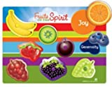 Fruits of the Spirit Peg Puzzle (Wee Believers W2011-31) by Unknown