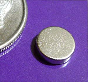 "Applied Magnets ® 100 Rare Earth Neodymium Magnets 1/4"" X 1/16"" Discs"