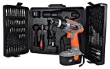 Terratek 68pc 18V Cordless Drill Driver Kit, Fantastic Electric Screwdriver complete with Tool & Accessory Set