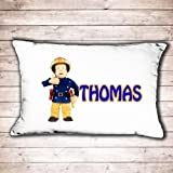 Personalised Fireman Sam pillow case great birthday or christmas gift