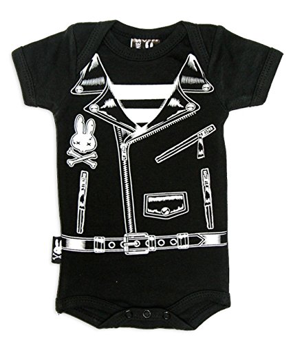 Six Bunnies Baby Body-Rocker/Biker Grenouillère 6-12mois