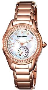Pierre Cardin PC104262F06 - Orologio da polso donna, acciaio inox, colore: oro