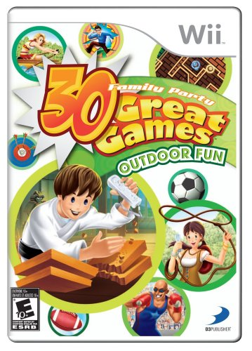 Family Party: 30 Great Games Outdoor Fun - Nintendo Wii - 1