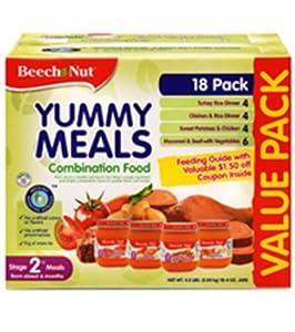 Beech Nut Baby Food Flavors List