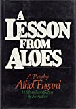A Lesson from Aloes (0394518985) by Fugard, Athol