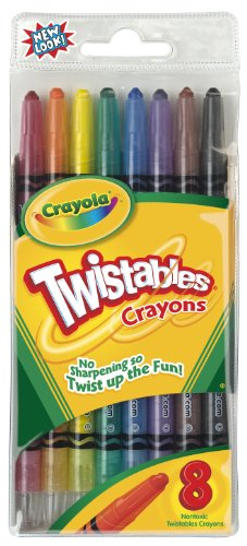 Crayola L L C 52-7408 Twistables Crayons back-1051410