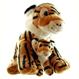 ZSL - Mother & Baby Tiger Soft Toy