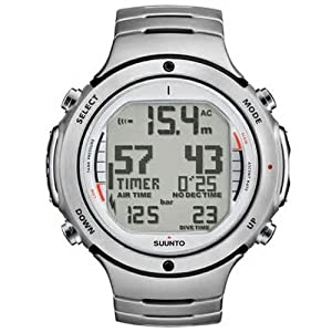 Buy Suunto Mens D6i STEEL W  USB Athletic Watches by Suunto