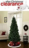 6 Foot Artificial Christmas Tree: Evergreen, Lightweight, with Hinged Branches [Unlit, Free Extended…