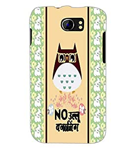 PrintDhaba Quote D-4820 Back Case Cover for MICROMAX A110 CANVAS 2 (Multi-Coloured)